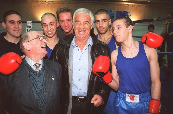 Jean-Paul Belmondo byl celoživotním fanouškem boxu. Během dospívání si vyzkoušel i amatérské zápasy. Foto: ČTK/ABACA