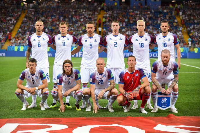 Islandská reprezentace na MS ve fotbale 2018vRusku. Foto:Světlana Beketovová, CC BY-SA 3.0