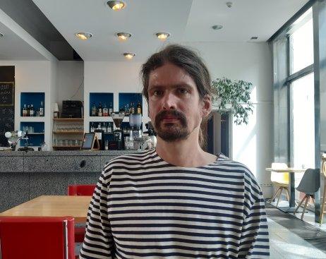 Překladatel Tomáš Jurkovič. Foto: Klára Čikarová