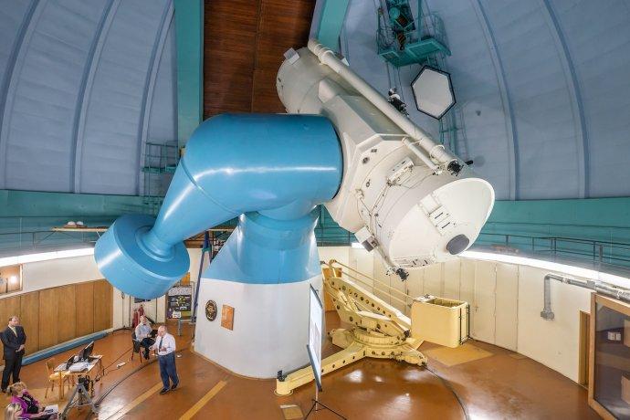 Největší dalekohled Česka se nachází na ondřejovské hvězdárně, pracovišti Astronomického ústavu AV ČR. Podle Babišovy vize ničím přínosný není. Foto:Jana Plavec / Akademie věd ČR