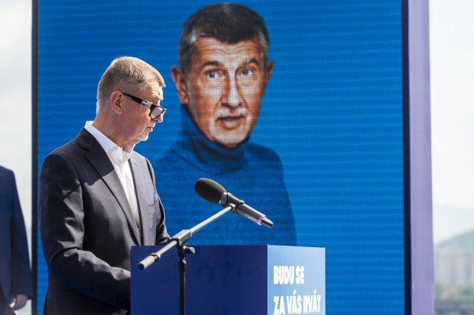 Andrej Babiš vsadil na negativní kampaň. Foto: ČTK