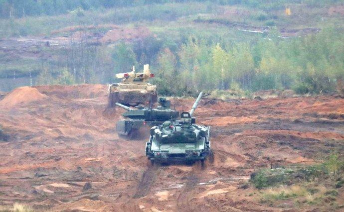 Rusko-běloruské vojenské cvičení Zapad 2017. Foto:kremlin.ru