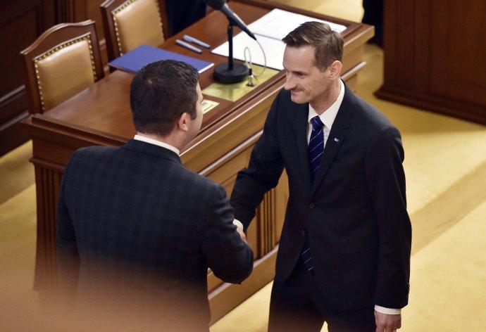Poslanec ODS Jakub Janda na snímku z roku 2017. Foto: ČTK