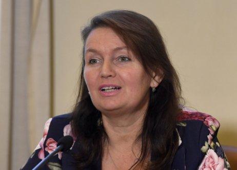 Prorektorka pro studijní záležitosti Milena Králíčková na konferenci Univerzity Karlovy. Foto: ČTK