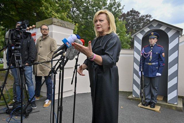 Ministryně financí Alena Schillerová otevřeně kritizovala zvýšení úrokových sazeb ze strany České národní banky. FOTO: ČTK