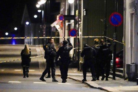 Útočník ozbrojený lukem ašípy dnes večer zabil ve městě Kogsberg na jihu Norska několik lidí adalší zranil. Foto:ČTK, AP