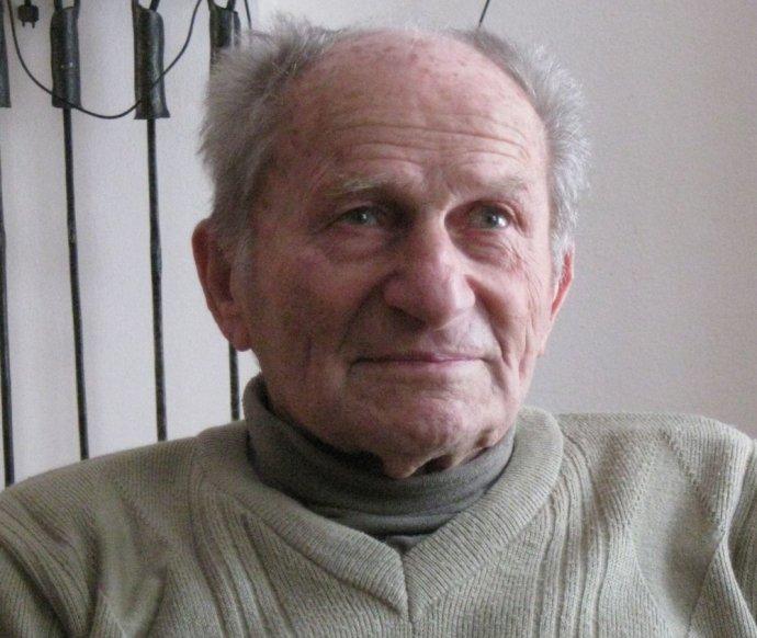 Bývalý politický vězeň František Wiendl. Foto:Eva Palivodová, Paměť národa